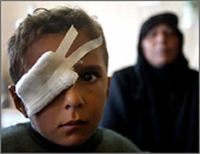 Iraqi boy. Source: Doctors for Iraq