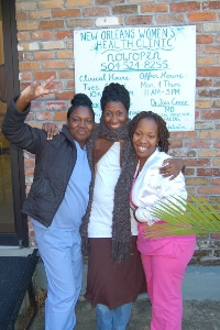 Staff of the New Orleans Womens Health Clinic. Source: INCITE!