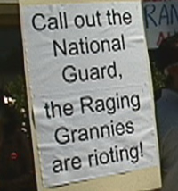 Source: Raging Grannies of the San Francisco Peninsula