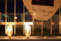 Jason Smith Candlelight Vigil; Photo courtesy of Madeleine Bair