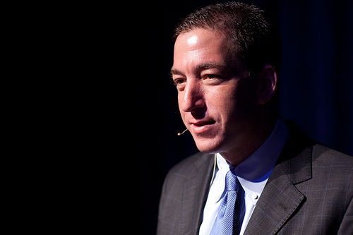 Glenn Greenwald; Photo courtesy of the Lannan Foundation