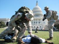 Anti-war Iraq vets reenact occupation at Washington DC landmarks.