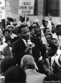 Martin Luther King, Jr. in 1960.